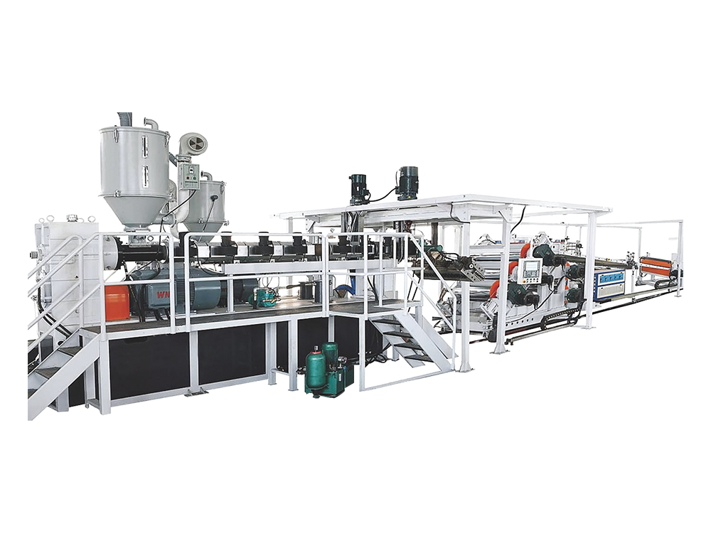 PC、PS、PMMA Optical Sheet Extrusion Machine Series